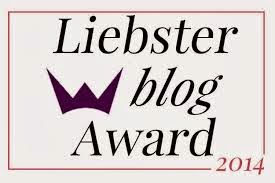 liebster award 2014 for blogger