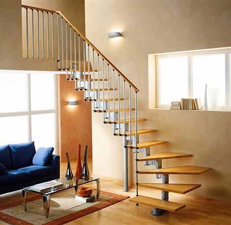 wooden modular staircase rintal