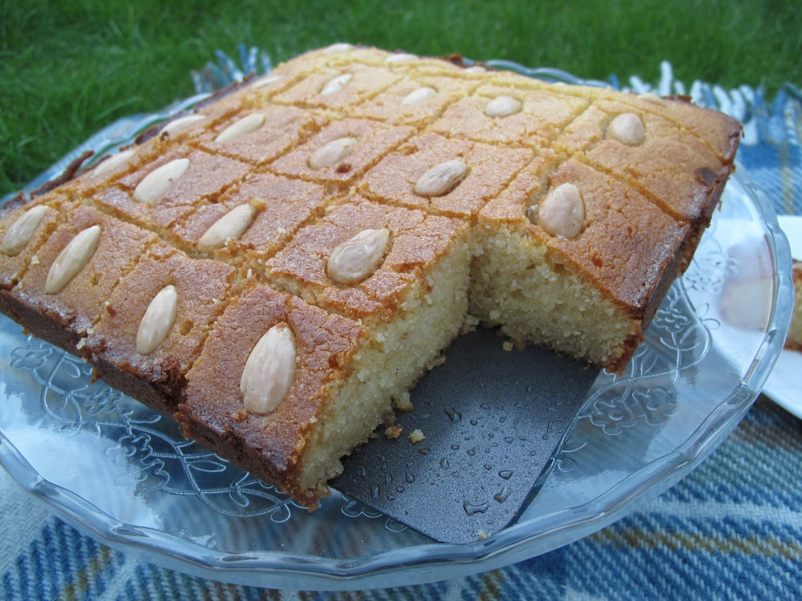 Almond Cake With Orange-Flower Water Syrup Recipes — Dishmaps