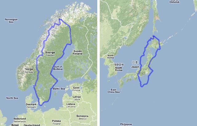 Sweden Usa Map - Sweden usa map