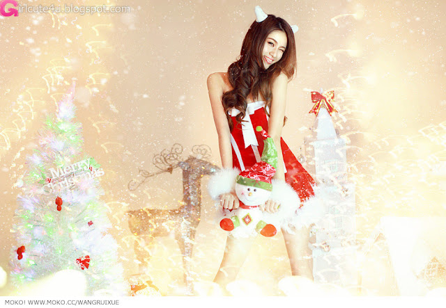 2 Xi Ran - Jingle Bells-very cute asian girl-girlcute4u.blogspot.com