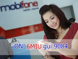 Đăng ký gói 6MIU Mobifone