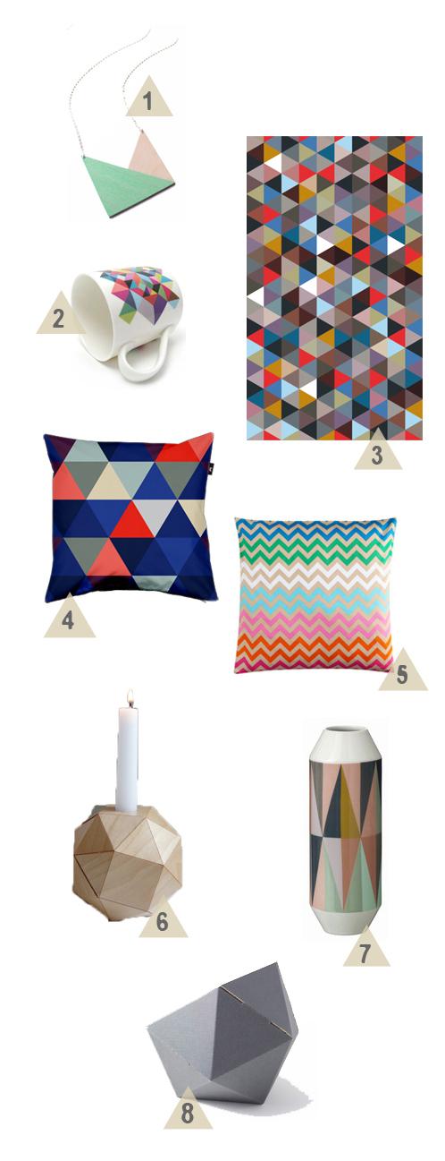 23qm stil wohnen leben bloggen trend geometrische formen for 23qm stil