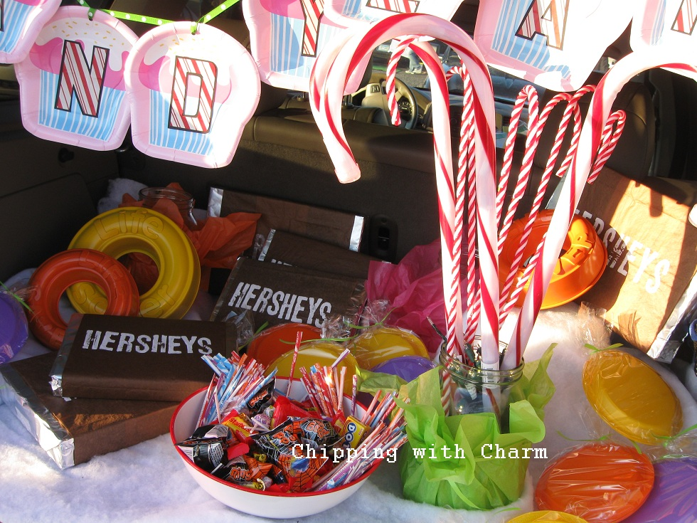 Chipping with Charm: Trunk or Treat...Candy Land style...