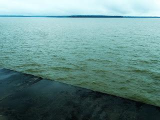 Lago de Itaipu, Usina Hidrelétrica de Itaipu - Divisa de Brasil e Paraguai.