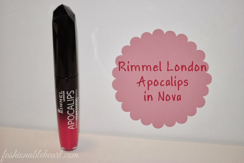 Rimmel Apocalips in Nova