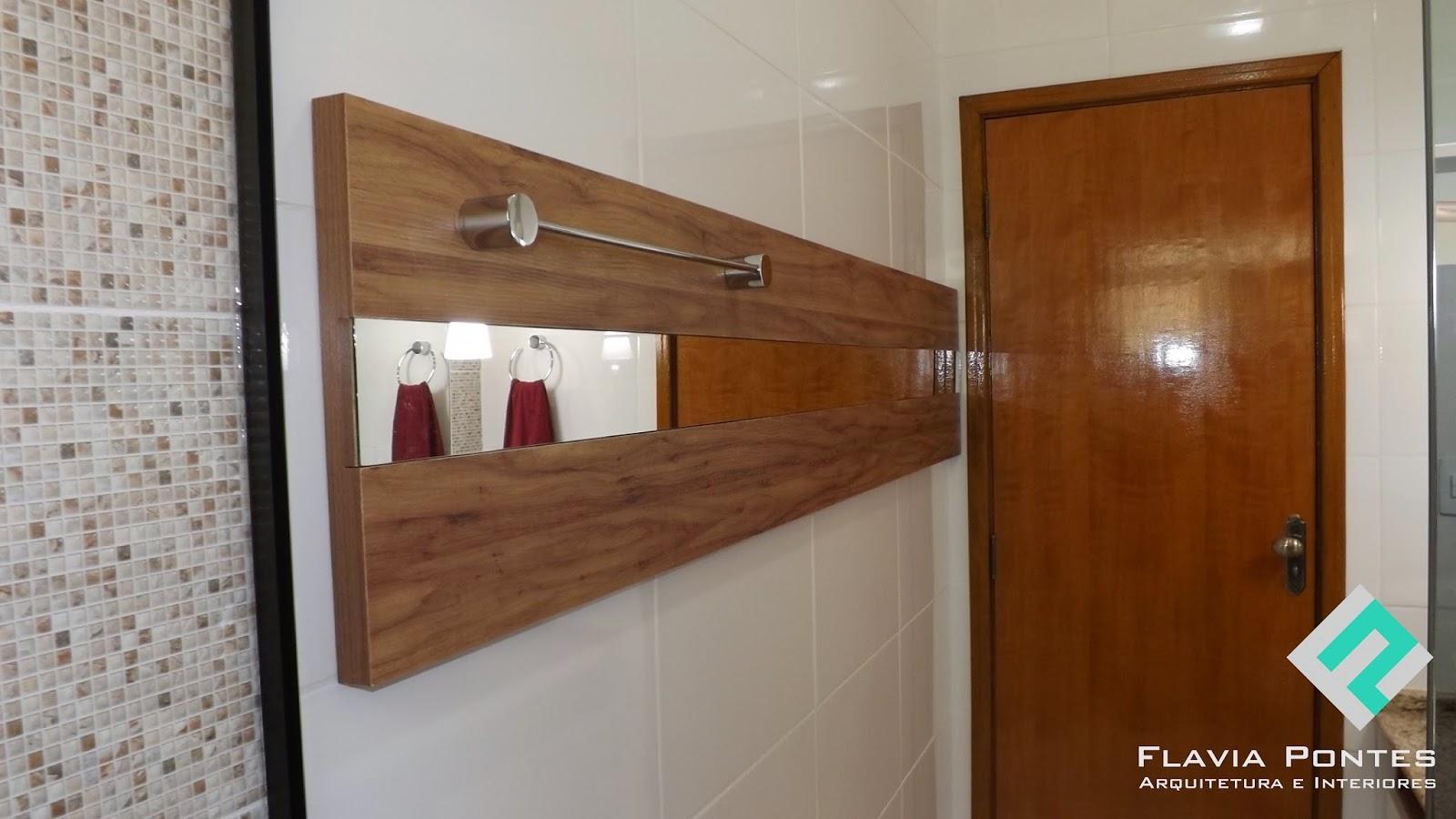 Flavia Pontes Arquitetura: Abril 2014 #22A993 1600x900 Banheiro Com Amadeirado