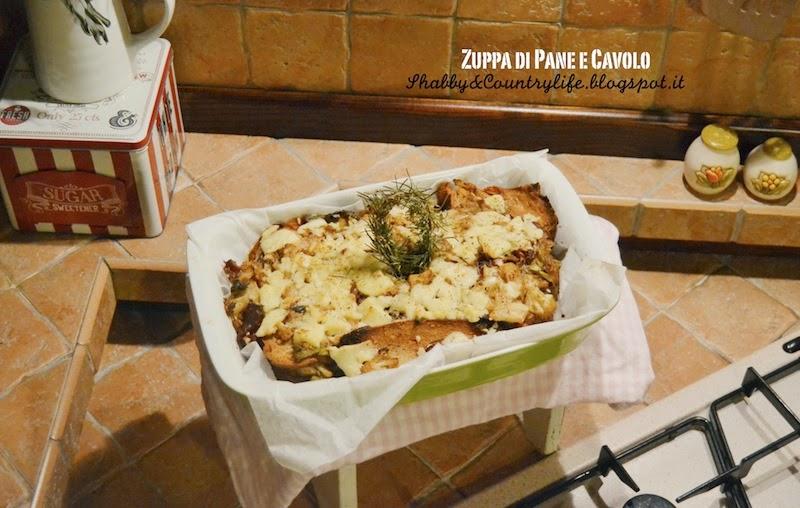 Zuppa di Pane e Cavolo di Jamie Oliver- shabby&countrylife.blogspot.it