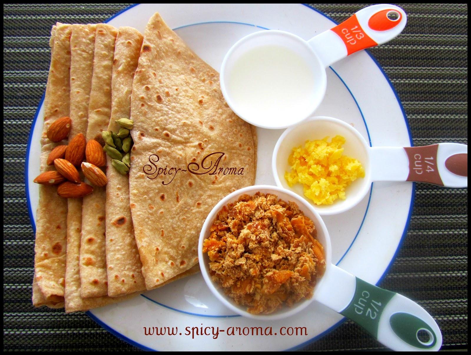 Policha Ladu / Chapati Ladoo / Ladoo from leftover chapati / Malida ...