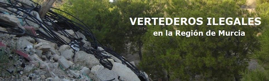 Vertederos ilegales en la Región de Murcia