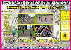 8vo. DESAFIO DE LAS TRES CRUCES