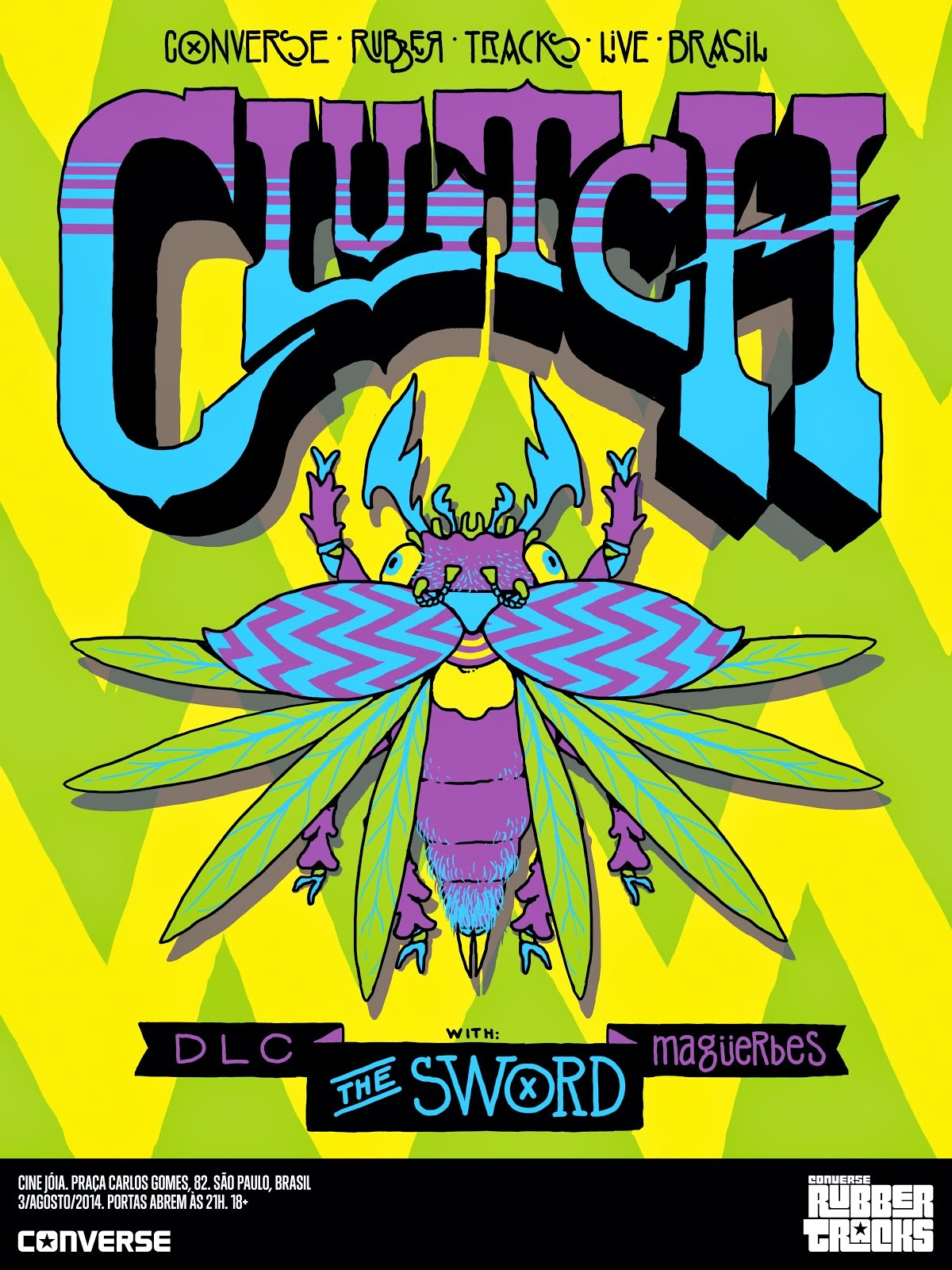 Clutch - The Sword
