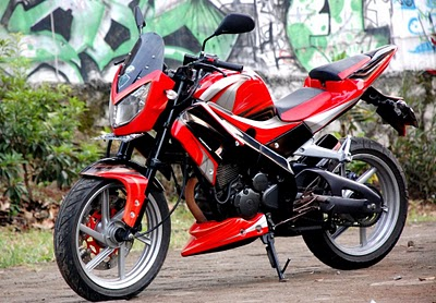 Modifikasi Yamaha Scorpio Z Street Fighters.JPG