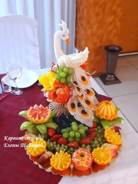 нарезка фруктов на заказ южно-сахалинск