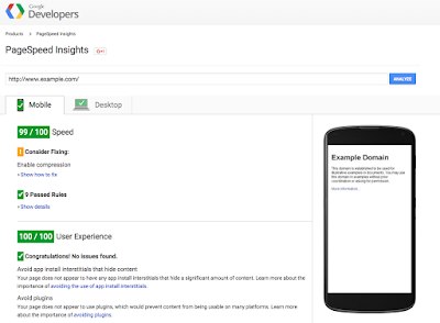 PageSpeedInsights The time is now for multi screen