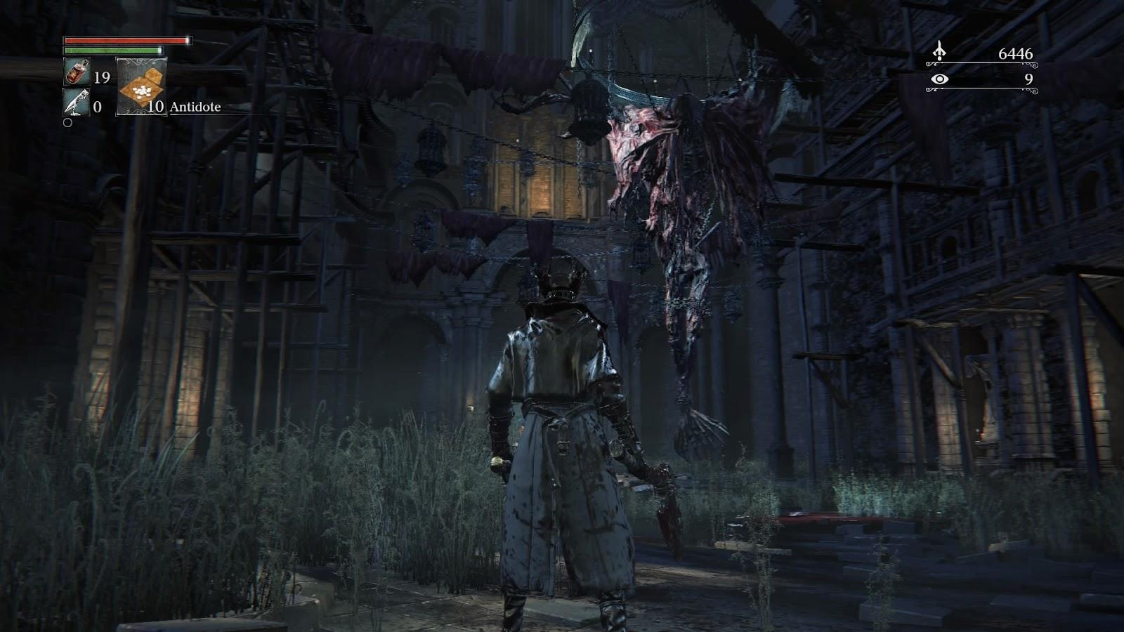 Bloodborne Old Yharnam