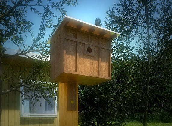 Neoshed birdhouses and bird feeders for modern for Types of birdhouses for birds