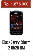Spesifikasi Dan Harga BlackBerry Storm 2 9520