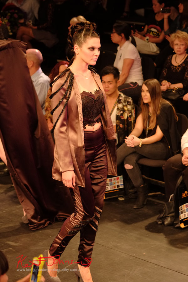 Modern Gothic Style, Raffles College 2012 Graduate Fashion Show Carriageworks, Everleigh Sydney