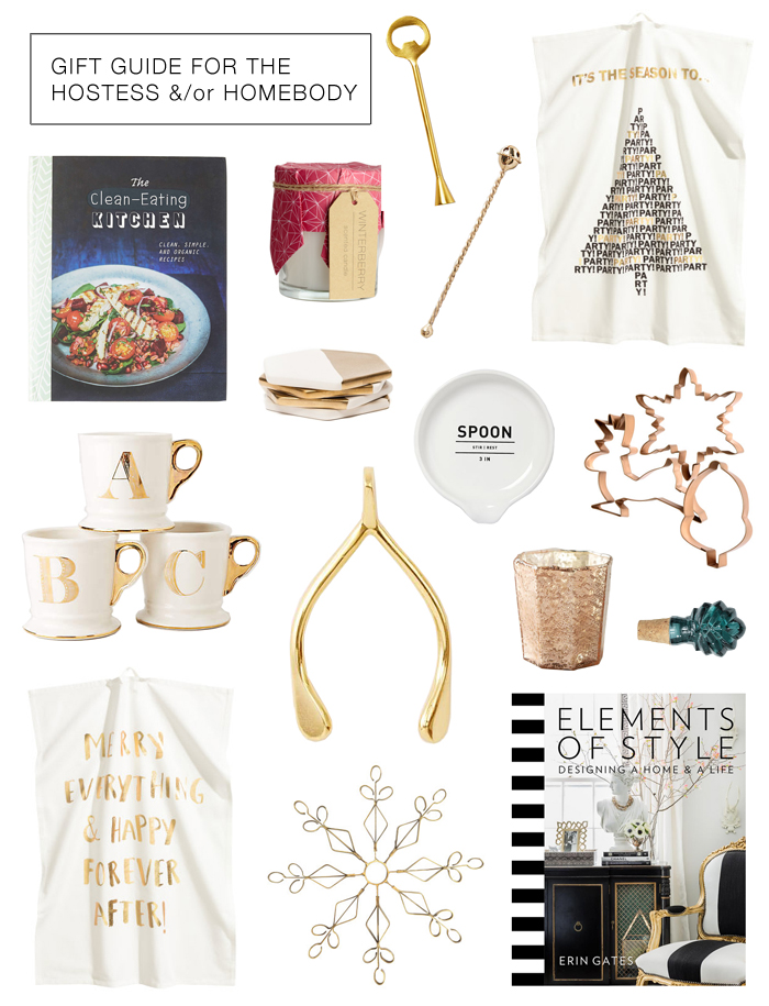 Gifts for the hostess or homebody