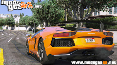V - Lamborghini Aventador LP700-4 para GTA V PC