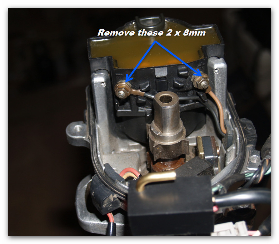 toyota 4y (supercharged) rebuild: distributors  toyota 4y (supercharged)