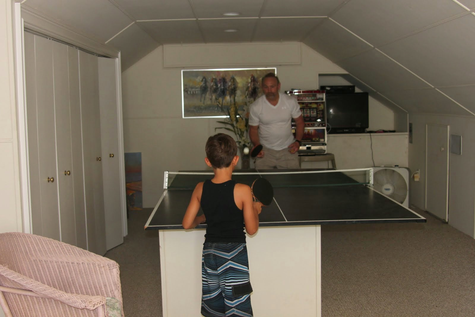Table tennis fun!