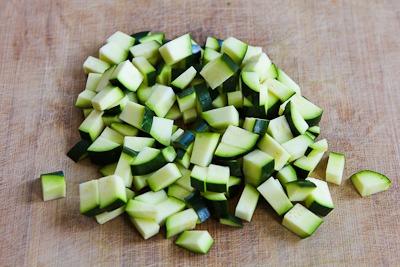 ... Recipe for Greek Frittata with Zucchini, Tomatoes, Feta, and Herbs