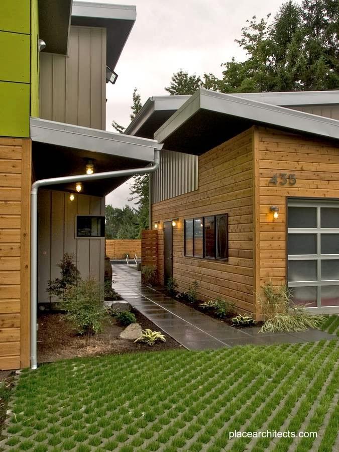 Sector de la construcción entre la casa y la cochera