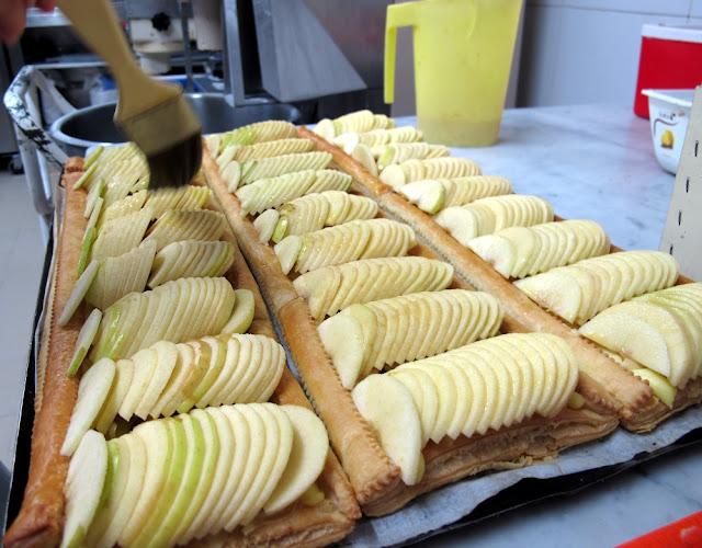 Pâtisserie Christian Cottard - Antibes - Tarte aux pommes