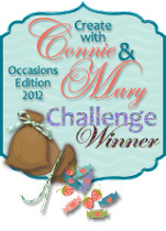 Create with Connie and Mary Challenge Winner