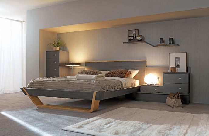 Art d co chambre coucher design 2012 2013 gauthier for Chambre adulte design moderne