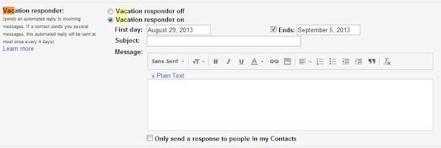 Auto Reply in Gmail