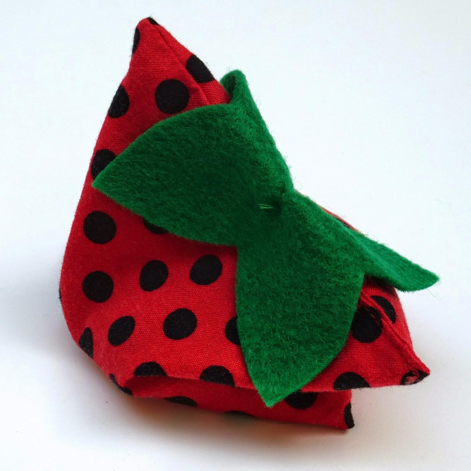 Strawberry Beanbag Top