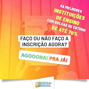 LISTA DE CURSOS E FACULDADES