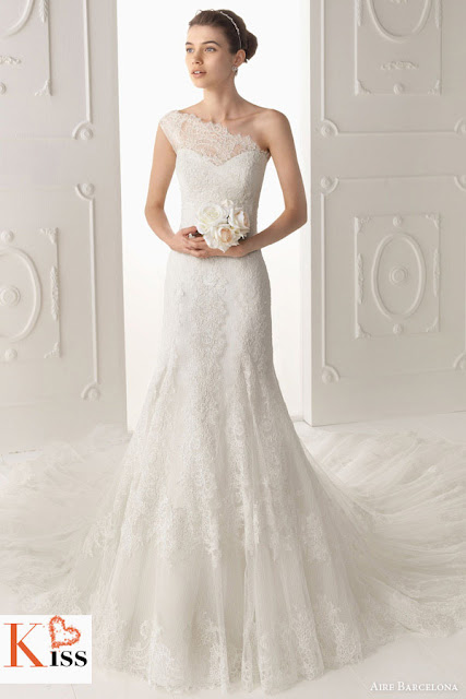 Aire Barcelona 2014 Lace Wedding Dresses