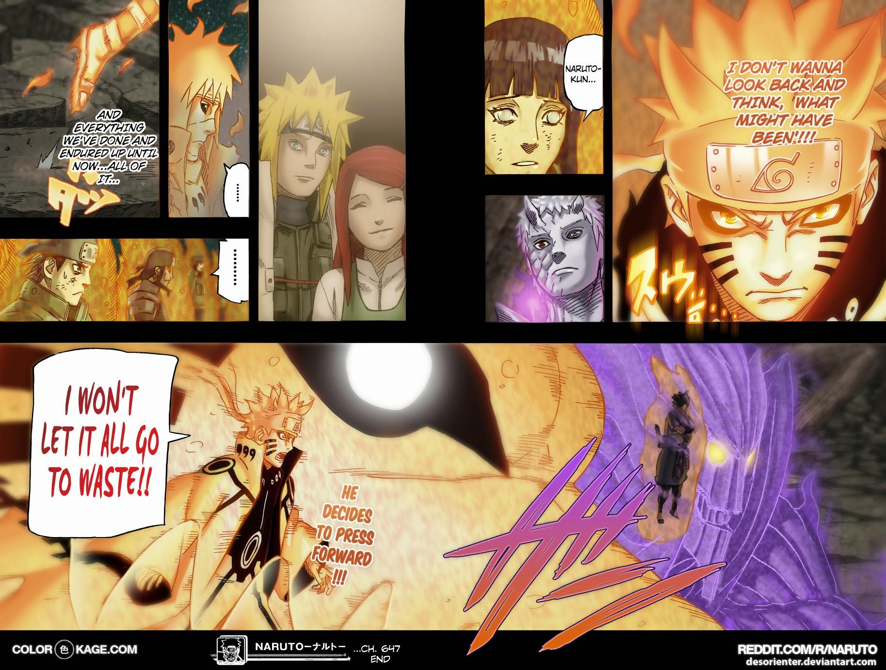 Naruto chap 654 Trang 20