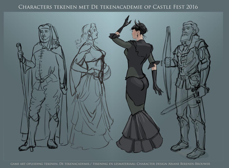 Character Design Opleiding : Tips en tekenles