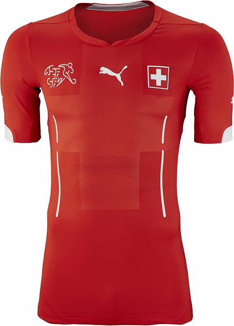 Puma divulga camisas da Suíça para a Copa do Mundo - Show de Camisas 320e4b9ff7307