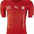 Puma divulga camisas da Suiça para a Copa do Mundo