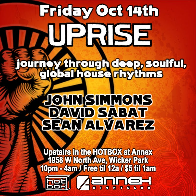 Friday October 14th: UPRISE