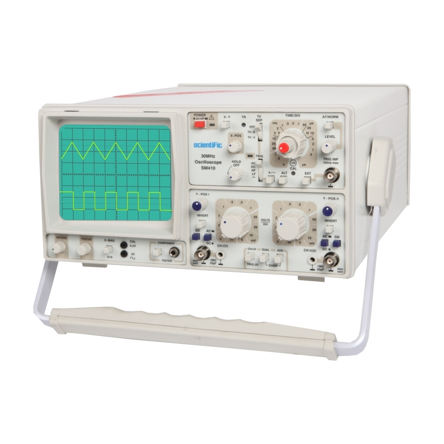 B Tech Buddy A Small Overview On Oscilloscopes And Function Generators Cathode Ray Oscilloscope