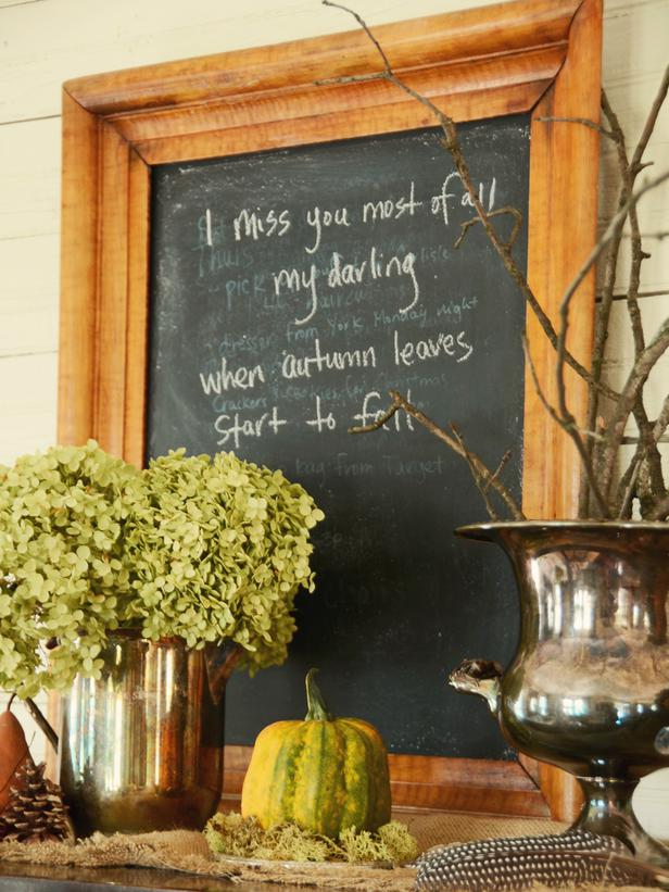 Welcoming Fall Entryway 2012 Ideas From Hgtv Modern