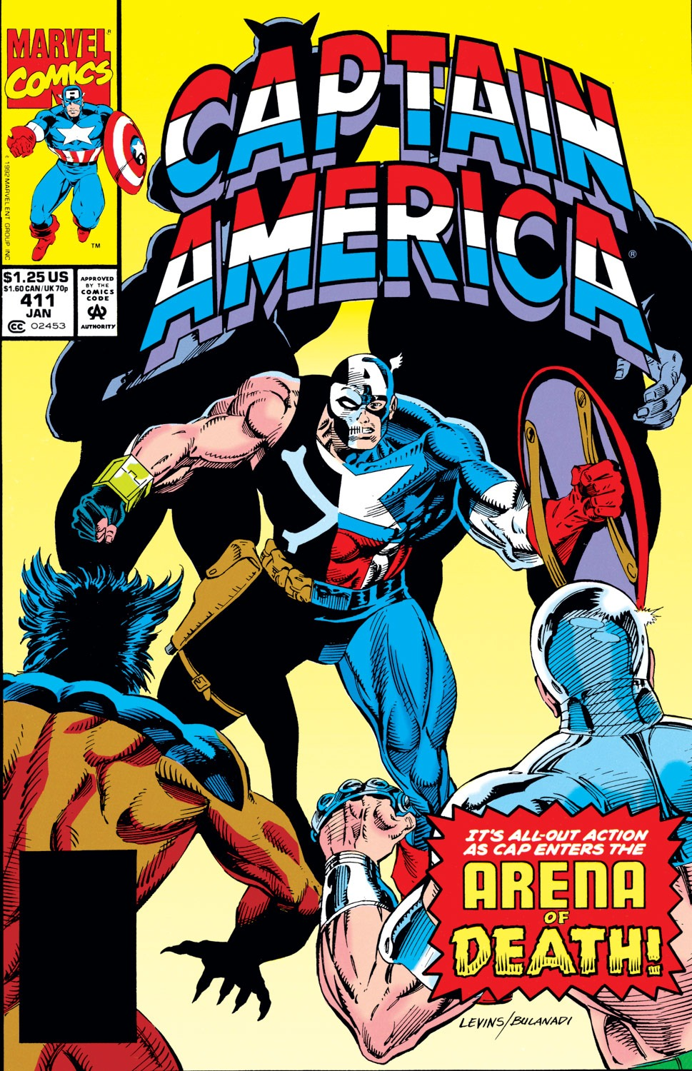 Captain America (1968) Issue #411 #360 - English 1