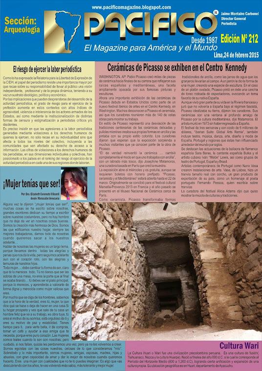 Revista Pacífico Nº 212 Arqueología