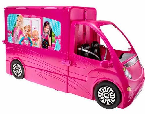 JUGUETES - BARBIE - Autocaravana de vacaciones  Producto Oficial | Mattel BJN62 | A partir de 3 años  Muñecas no incluidas