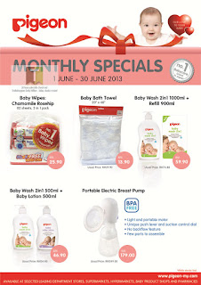 Pigeon Monthly Special June 2013