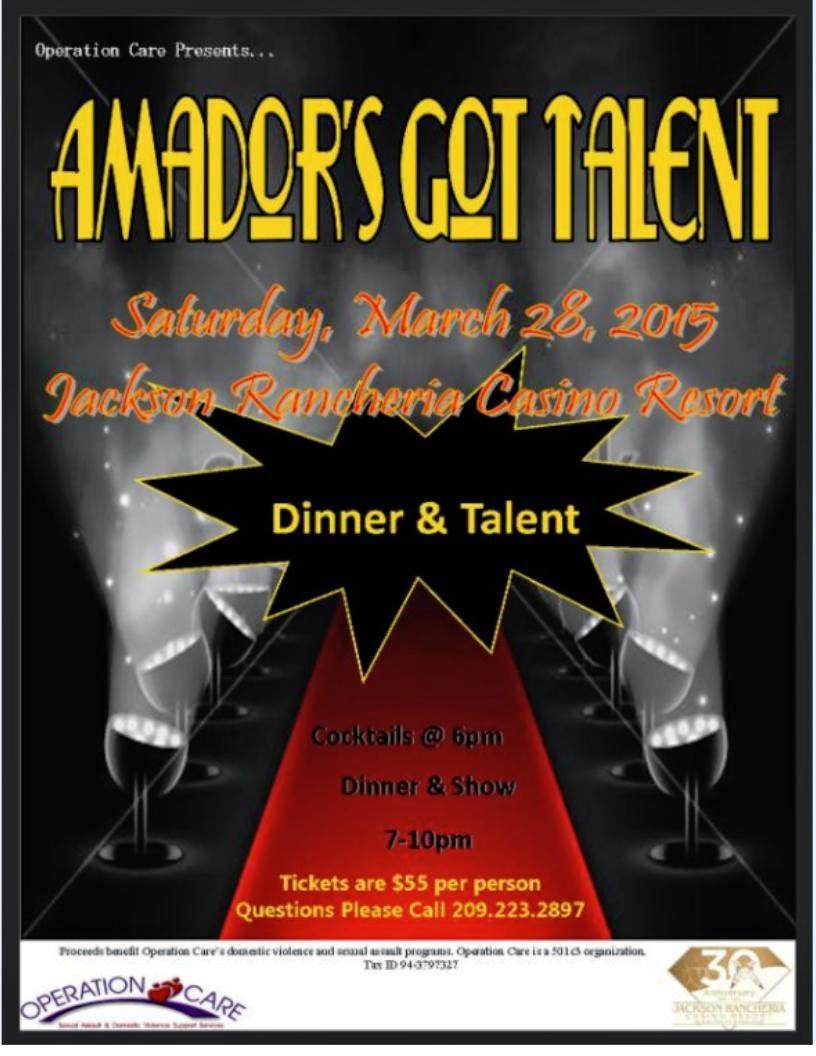 Amador's Got Talent - Sat Mar 28