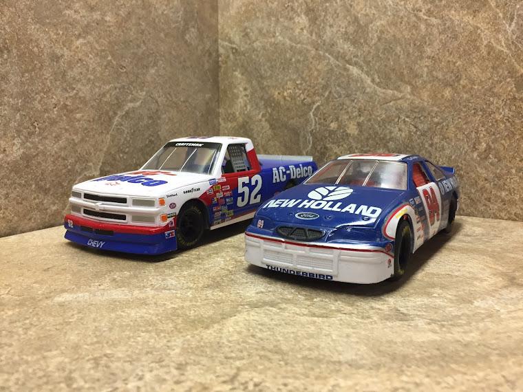 NASCAR, both 1:24th scale ~