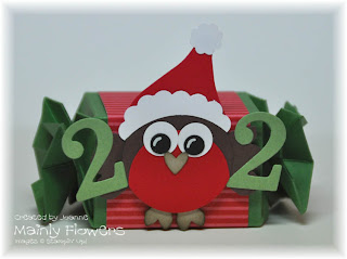 Christmas Robin advent calendar